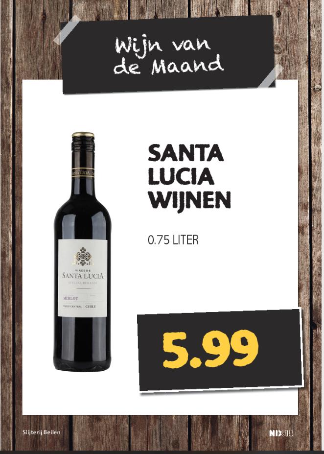 Santa Lucia wijn